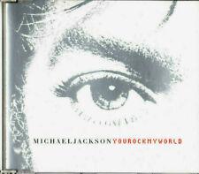 MICHAEL JACKSON ~ YOU ROCK MY WORLD ~ CD MAXI SINGLE