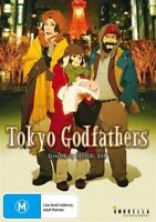 Tokyo Godfathers (DVD) Anime Tale of Mystery & Resilience [Region 4] NEW/SEALED