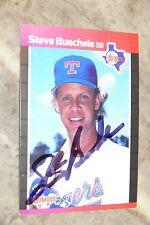 STEVE BUECHELE SIGNED AUTOGRAPHED 1989 DONRUSS CARD # 174 TEXAS RANGERS
