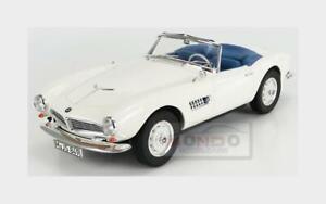 Bmw 507 Cabriolet Open 1956 White NOREV 1:18 NV183232 Model