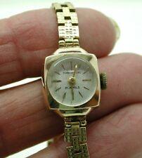 1960's Ladies Solid 9ct Gold Humberstone Bracelet Watch