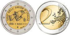 B) ITALIA 2 EURO COMMEMORATIVE 150°UNITà D'ITALIA DEL 2011 FDC UNC