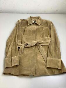 Women's NWT Banana Republic Brown Leather Jacket Size M