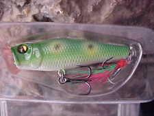 "Matzuo 2"" Ultra Lite 3/16oz Nano Popper NP2-FROG for Smallmouth/Trout/Panfish"