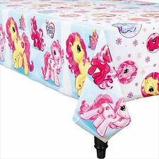 MY LITTLE PONY PLASTIC TABLE COVER ~ Birthday Party Supplies Decorations Cloth