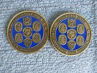 Operation Iraqi Freedom Enduring Freedom Amphib Task Force 2 Coin Set USMC USN