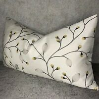 Beautiful Floral Cushion Cover & John Lewis Magnolia Bud Fabric Embroidered