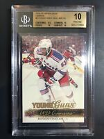 2014-15 Anthony Duclair Young Guns Canvas Rookie BGS 10