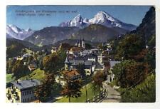 AK Berchtesgaden m. Watzmann u. Schönfeldspitze, 1913