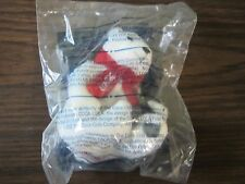 2002 McDonalds Sealed Coca Cola Holiday Polar Bear Toy Plush