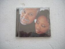 JOE SAMPLE feat. LALAH HATHAWAY / THE SONG LIVES ON -- Japan cd opened