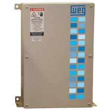 "WEG Power Factor Correction Capacitor, 50 KVAR, 480VAC Voltage, 11.8"" Width, 4.8"