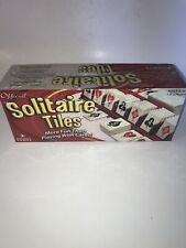 Official Solitaire Tiles Game New Sealed