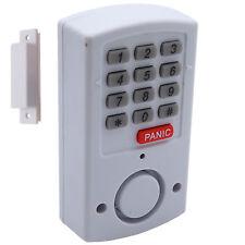 Alarmanlage mit Panik Taste Türalarm Fenster Alarm Zahlencode 105 dB Haus Schutz