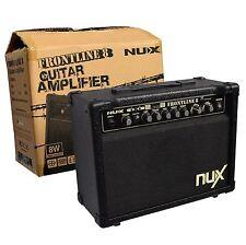 Hochwertiger NUX E-Gitarren Verstärker_FRONTLINE 8 = 15WATT_DISTORTION_MIKRO_uvm