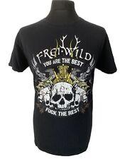 Frei Wild Skull Death German Rock Heavy Metal Band Black T Shirt Tee L
