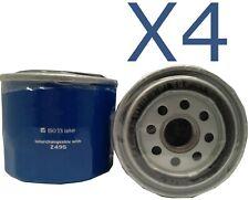 4X Oil Filter fits Z495 Subaru Impreza WRX 2.0 (GC8G) 1999 - 2000