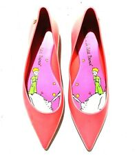 Melissa Little Prince pointed jelly flats sz 38
