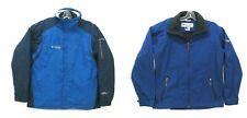 Mens Columbia 2 in 1 Waterproof Winter Ski Skiing Snow Board Parka Coat Jacket L