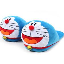 Doraemon Head Plush Type Indoor Slippers Non Slip Home Sheos Anime Character