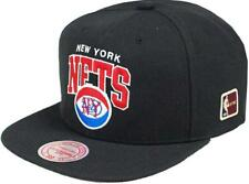 Mitchell & Ness New York Nets hud127 Black Team Arch SnapBack cap HWC NBA