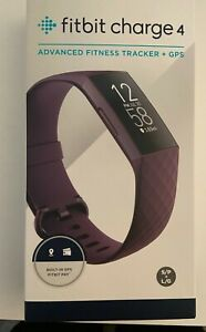 Brand New/Never Opened: Fitbit Charge 4 Activity Tracker - Rosewood