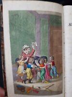 Campe abezee Buch 1829. 24 handkolorierte Kupfertafeln . Selten.