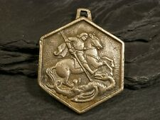 Medaillen Medaille Queen Victoria Heiliger Georg Drachentöter Gelegenheitsmedaillen M472