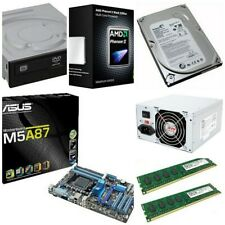 ASUS M5A87 Motherboard Phenom II x4 955 3.2Ghz RAM HDD DVD PSU Upgrade Combo