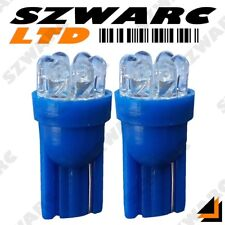 2x 501 T10 W5w 194 Car 7 Led Ice Blue Xenon Wedge Side Light Bulbs 12v Hid Uk