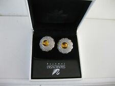 Large Swarovski Crystal Jewellery Clip - on Earrings with Box