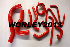 Red silicone radiator heater hose for MAZDA BT-50 3.0 & 2.5 TURBO DIESEL 07-11