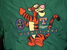 Boys Disney Tigger Jacket Size XL Sweat Disneyland Resorts Green Embroidered