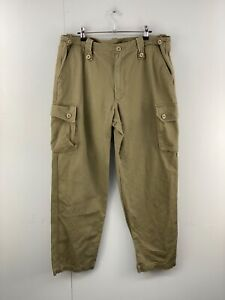 Army Navy Disposals Men's Military Straight Leg Cargo Pants Size 38 Green