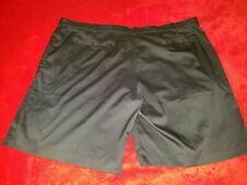 Nike Dri Fit Golf Big & Tall Size 48 Mens Black Flat Front Shorts New