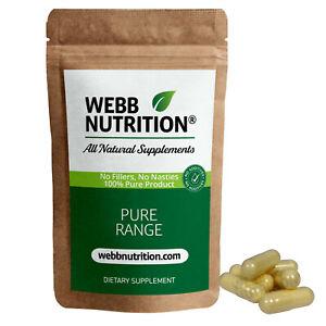 Pure Alpha Lipoic Acid 30 Capsules - Powerful Antioxidant - No Additives VEGAN