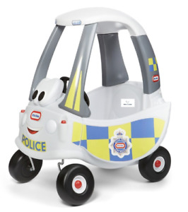 Little Tikes Police Response Cozy Coupe Police Car Toddler Push Ride On Toy 18m+