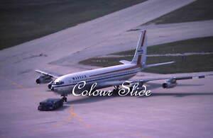 Wardair Boeing 707-311C C-FFAN, Toronto, 9.78, Colour Slide, Aviation Aircraft