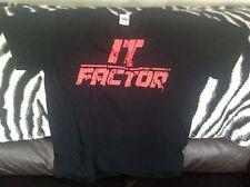 Tna Impact Wrestling Bobby Roode oficial de la cadena que factor Camiseta Talla M