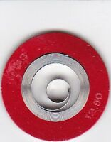 1 WALTHAM  12s MAINSPRING 12 1/2 x X x 19 1/2  #2224A  WHITE ALLOY (2 Strengths)