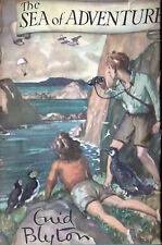 Enid Blyton SEA OF ADVENTURE 1948 1st American Edition HC/DJ Fine / Near Fine