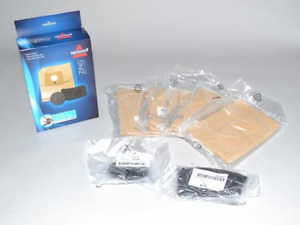 Genuine Bissell Zing 4122 Canister Vacuum Bags w/ Pre & Post Filter 2138425 1480