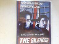 THE SILENCER : DVD 1999 MICHAEL DUDIKOFF new sealed stock Rockingham WA