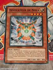Carte YU GI OH INVOCATEUR DE NOVA GLD3-FR011 X 3
