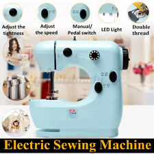 US Portable Electric Desktop Sewing Machine Household DIY Stitch Clothes Fabric