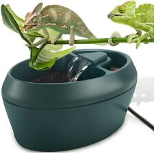 Reptile Water Drinking Fountain Feeding Humidifier Lizard Chameleon Pet Supplies