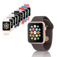 Apple Watch Sport 42mm 1st Gen Smartwatch w' Sport Band, Aluminum Chassis, GPS