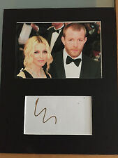 Guy Ritchie AUTOGRAPHED Madonna mounted photo-see signing proof