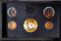 1969-S US MINT PROOF SET NICE COLOR BU TONED CHOICE UNC GEM #34 (DR)