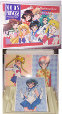 Rare Sailor Moon S Bromide Lot of Cards w Official Card Case has URANUS NEPTUNE!